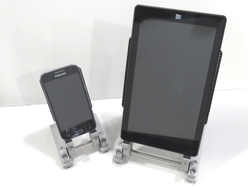 Phone Amp Tablet Stand Combo